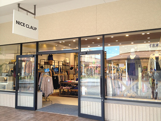 NICE CLAUP OUTLET 酒々井プレミアムアウトレット店